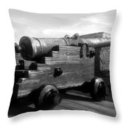 The Old Castillo Throw Pillow