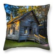 The Old Church Throw Pillow