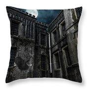 The Old City Jail Throw Pillow