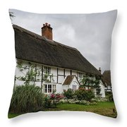 The Old Cottage Micheldever Throw Pillow