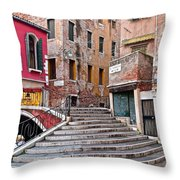The Old Country Throw Pillow