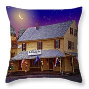 The Old Country Store Throw Pillow