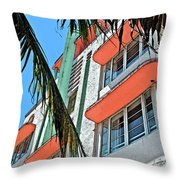 The Old Deco Throw Pillow