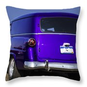 The Old Delivery Throw Pillow