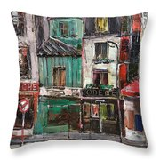The Old District II Throw Pillow