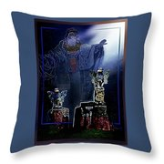 The  Old  Druid Throw Pillow