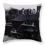 The Old Engine Throw Pillow