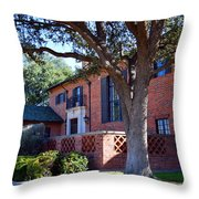 The Old Front Porch Throw Pillow