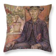The Old Gardener 1921 Throw Pillow