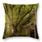 The Old Homestead #2 Throw Pillow