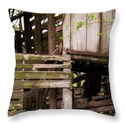 The Old Homestead #5 Throw Pillow