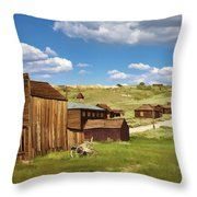 The Old Hotel Throw Pillow