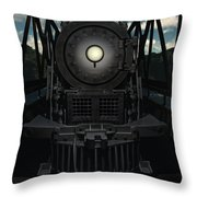 The Old Iron Bridge Throw Pillow