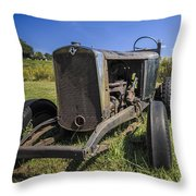 The Old Jalopy Throw Pillow
