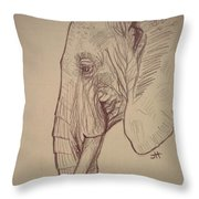 The Old Leader Throw Pillow