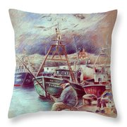 The Old Man And The Sea 02 Throw Pillow