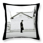The Old Man Of Mea Shearim Throw Pillow