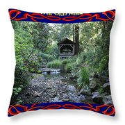 The Old Mill 2 Throw Pillow
