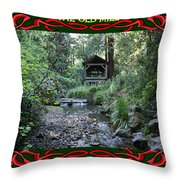 The Old Mill 3 Throw Pillow