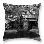 The Old Mmill Throw Pillow