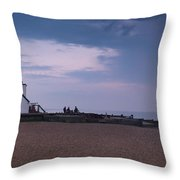 The Old Neptune Whitstable Throw Pillow