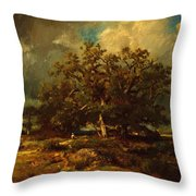 The Old Oak 1870 Throw Pillow