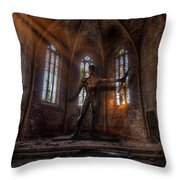 The Old Party Tune. Throw Pillow
