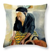 The Old Potter Throw Pillow