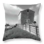 The Old Pump House Throw Pillow