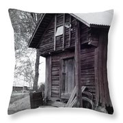 The Old Red House 8x10 Throw Pillow