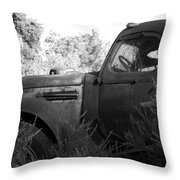 The Old Ride Throw Pillow