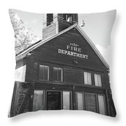 The Old Ridgway Firehouse Throw Pillow