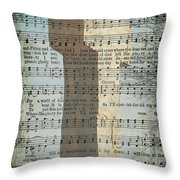 The Old Rugged Cross Throw Pillow