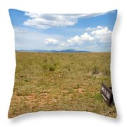 The Old Santa Fe Trail Throw Pillow
