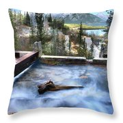 The Old Penstock Platform? Throw Pillow