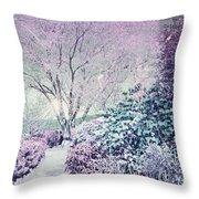 The Old Soul Of Spring Throw Pillow