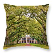 The Old South Version 3 Throw Pillow