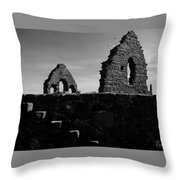 The Old Steps Throw Pillow