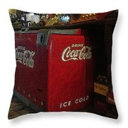 The Old Store Throw Pillow