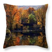 The Old Tressel Throw Pillow