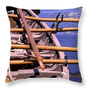 The Old Way Throw Pillow