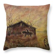 The Old West Throw Pillow