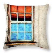 The Old Window Throw Pillow