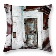 The Old Witch House Throw Pillow