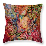 The Olive Branch Throw Pillow