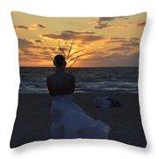 The One That Awakes The Sun Throw Pillow