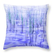 The Ongoing Reeds Experiment Throw Pillow
