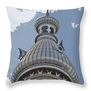 The Onion Of The Sky Throw Pillow