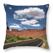 The Open Road - Utah Throw Pillow