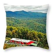 The Orchard At Altapass Throw Pillow